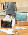 Expansion Coupon & Receipt Organizers Black or Mineral Green Pouch Holder Folder