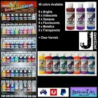 Jacquard Airbrush Paints (48 Colors Available + Clear Varnish) x 1 Bottle 118ml