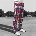 Royal & Awesome New for 2015 Spectacular Mens Golf Trousers *TREW BRIT*