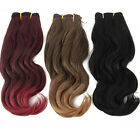 "New Loosely Wavy Weave Hair 20"" Long Curly Hair Extension Fashion Daily Wear"