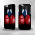 S2261 Businessman In Black Suit With Boxing Gloves Case For IPHONE Samsung htc