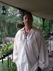 Pirate Renaissance SCA LARP Cosplay Fantasy Steampunk Mens shirt