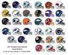 NFL Decal Stickers Football Helmet Licensed Complete Set of all 32 Teams