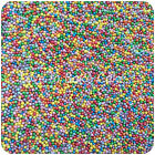 RAINBOW PEARLISED GLIMMER 100s & 1000s Nonpareil Edible Sugar Cupcake Sprinkles