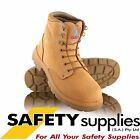 Steel Blue Argyle Lace Up Wheat Safety Boot