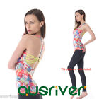 Gorgeous Women Yoga Tank Top Sexy Y-back Running Gym Workout Sports Singlet