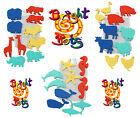 Bright Bots Foam Bath Stickers + storage bag new! Safari, Farm or Ocean Sea!!