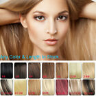 100G 120G 160G Heavy Thick Clip In100% Natural Real Blonde Human Hair Extensions