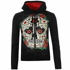IN SCONTO Banned Sugar Hoody Donna Red Roses