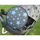 My Buggy Buddy Pram/Car Seat Sun Shade Maker Clip-on Parasol Solar Screen Panel