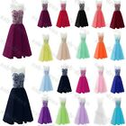 Short Sexy Chiffon Formal Prom/Bridesmaid Cocktail Party Evening Dress Size 6-22