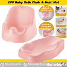 EPP Aid Support Baby Bath Mat Changing Pad Support Pink Light Drain Bath Chair