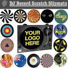 DJ Record Turntable Scratch Slipmats decks vinyl club disc jockey birthday gift