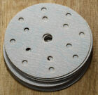 150mm  DA  SANDING DISCS CHOICE OF GRITS FROM 80 - 1500 MIXED GRIT HOOK & LOOP