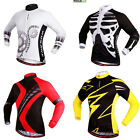 Unisex Winter Thermal Bicycle Bike Cycling Top Long Sleeve Jersey Sportwear