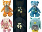 Plush Glow In The Dark Bedtime Buddies Baby Soft Toy Gift