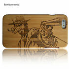 Wood Phone Case For Iphone 7 6 6S Plus New Natural Bamboo Wooden Protector Skin
