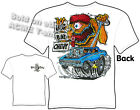 Rat Fink T Shirt Big Bad Chevy 62 Biscayne Impala Big Daddy Tee Sz M L XL 2XL 3X