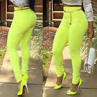 Fashion Women Slim Skinny Leggings Stretchy Pants Jeggings Pencil Pants Candy