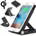 Qi Wireless Charger Charging Vertical Dock Stand For Samsung Galaxy S7/ S6 Edge