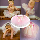 New Arrival Pink Skirts And Iovry Lace Trimmed Tutu Skirts Soft Skin Baby Shower