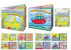 First Step Soft Floating Baby Toddler Colorful Bath Book Educational Bath Toy