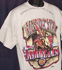 Vintage 90s Florida St SEMINOLES T-Shirt CAPITOL Graphics NCAA NWT New Old Stock