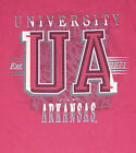 Vintage 90's Univ Arkansas RAZORBACKS Hogs CRABLE T-Shirt NCAA NWT New Old Stock