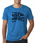 Paul Walker Quote If Speed kills Me Black Mens T Shirt S M L XL 2XL SAPPHIRE