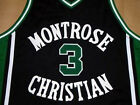 KEVIN DURANT MONTROSE HIGH SCHOOL JERSEY Black  NEW SEWN  ANY SIZE XS - 5XL