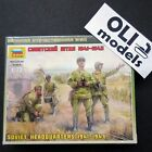 1/72 Soviet Headquarters 1941-1943  FIGURES SET - Zvezda 6132