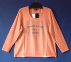 Samoon Shirt Gerry Weber Vintage Maltinto Look orange-Pfirsich Baumwolle Stretch