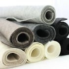 2mm thick 100% wool pressed felt per metre 90cm wide natural melange colours