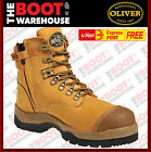 Oliver ATs 55232Z Men's Work Boots Safety Steel Toe Cap ZIP  FREE EXPRESS POST!