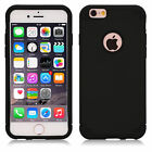 Shockproof Dual Heavy Duty Case Cover for Apple iPhone Samsung Galaxy S6/S7 Edge
