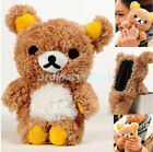 2016 Lovely 3D Cute Teddy Bear Cool Plush Toy Doll Case Cover For Various phones