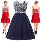 New Short Formal Homecoming Wedding Party Prom Bridesmaid Evening Cocktail Dress