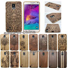 Real Natural Wood Bamboo Case Back Case Cover For Samsung Galaxy Note 5 4 3 S7