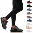 LADIES WOMENS TRAINERS FLAT CASUAL GYM FASHION FITNESS LACE UP SUMMER SHOES
