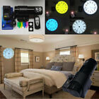 Creative Analog LED Digital Light Desk Wall Projection Roma/Arabia Clock Remote