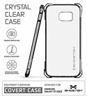 Ghostek Covert Slim Shockproof Bumpers Case Cover For Samsung Galaxy S7 Edge <br/> 5-Colors | Screen Guard | Warranty | Touch-ID Ready