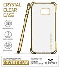 For Galaxy S7 Edge Case | Ghostek COVERT Slim Clear Hybrid TPU Shockproof Cover