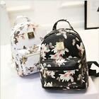 2016 mochila Women Backpack Causal Floral Printing Polyster Leather Softback Bag