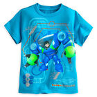 Disney Store Miles from Tomorrowland Robot Power Suit Boys T Shirt sz 4 5/6 7/8