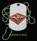 3RD MAW MARINE AIR WING US MARINES DOG TAG HAT PIN MCAS EL TORO MIRAMAR USS FMF