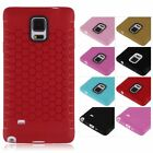New Soft TPU Silicone Rubber Phone Case Cover Skin For Samsung Galaxy Note 4