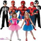 CHILDS ULTIMATE SPIDER-MAN BOYS GIRLS SPIDER-GIRL SUPERHERO FANCY DRESS COSTUME