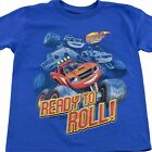 Blaze and the Monster Machines Trucks Boys T-Shirt Size S 4 M 5/6 L 7