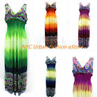 Plus Size MAXI Urban Women Summer Dress Stylish Sundress(U.S Seller) HY-4235