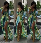Sexy Womens Boho Summer Bandage Bodycon Evening Party Cocktail Long Maxi Dress